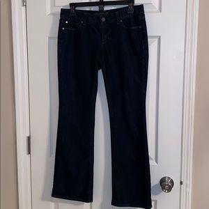 🌷Ann Taylor Modern Boot Cut Denim Jeans Size 6P